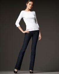J Brand | Blue Mid-rise Straight-leg Jeans, Ink | Lyst