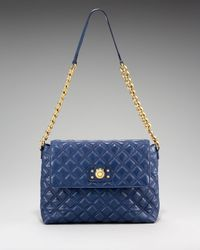 Marc Jacobs   Blue The Single Quilted Bag, Extra Large   Lyst