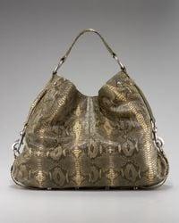Rebecca Minkoff | Multicolor Nikki Python-embossed Handbag | Lyst