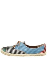 Tabitha Simmons - Multicolor Striped Silk Espadrille Sneaker - Lyst