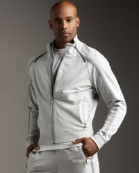 Zegna Sport | Gray Track Jacket for Men | Lyst