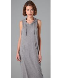 Cheap Monday | Gray Jersey Long Hood | Lyst