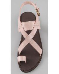 Joie - Natural Allison Road Flat Sandals - Lyst