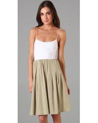 Theory - Natural Faymon Dress - Lyst