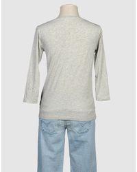 DIESEL - Gray Short Sleeve T-shirt - Lyst