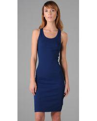 Splendid | Blue 2x1 Racer Back Dress | Lyst