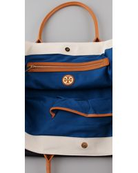 Tory Burch - Natural Oversized Dipped Tote - Lyst