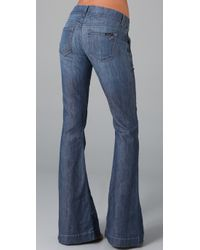 William Rast | Blue Jade Trouser Jeans | Lyst