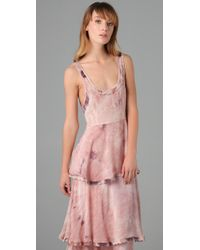 Free People | Pink New Romantics Tiered Hippie Trip Maxi | Lyst