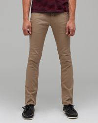 Comune | Natural David Skinny Twill for Men | Lyst