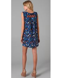 Tibi | Blue Ankara Shift Dress | Lyst