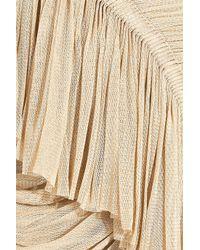 Willow | Natural Silk-tulle Drape Skirt | Lyst