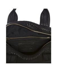 Alexander Wang   Rocco In Black Pebble With Antique Brass   Lyst