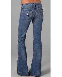 Hudson Jeans - Blue Ferris Flare Jeans - Lyst