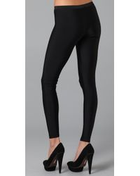 LNA - Black Basic Leggings - Lyst