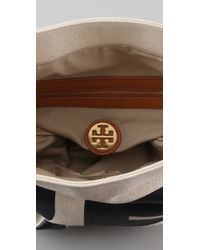Tory Burch - Natural Je Taime Canvas Tote - Lyst