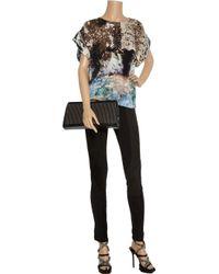 GAR-DE | Black Karluk Suede-paneled Jersey Leggings | Lyst