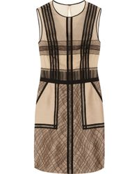 3.1 Phillip Lim | Natural Silk-blend Organza and Lace Dress | Lyst