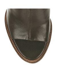 Camilla Skovgaard   Green Leather Wedge Mules   Lyst