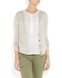 Chinti & Parker - Natural Bamboo and Cashmere-blend Cardigan - Lyst