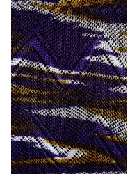 Missoni   Black Patterned Knit Bandeau Bikini   Lyst