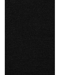 T By Alexander Wang | Black Stretch-modal Sleeveless Twist Dress | Lyst