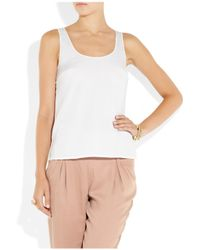 Vince | White Favourite Tank Top | Lyst