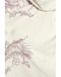 Vivienne Westwood Red Label - Natural Toile De Jouy Printed Top - Lyst