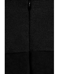 Zac Posen | Black Stretch-jersey Strapless Gown | Lyst