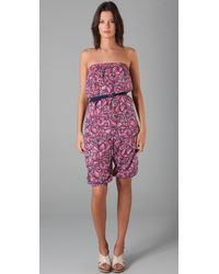 Marc By Marc Jacobs | Multicolor Swim Arielle Bloom Romper | Lyst