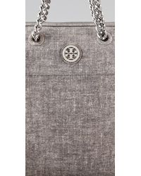 Tory Burch - Gray Mclane Satchel - Lyst