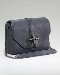 Givenchy | Blue Antigona Lizard-embossed Bag | Lyst