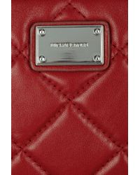 MICHAEL Michael Kors | Red Hamilton Leather Cross-body Bag | Lyst