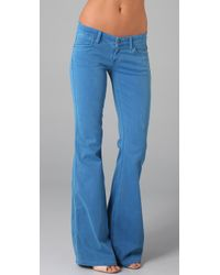Rich & Skinny | Blue Bikini Flare Jeans | Lyst
