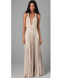 Twobirds | Natural Long Convertible Dress | Lyst