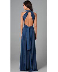 Twobirds - Blue Long Convertible Dress - Lyst