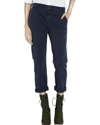 Current/Elliott | Blue The Captain Trouser | Lyst