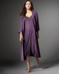 Joie - Purple Knit Robe - Lyst
