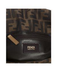 Fendi - Brown Tobacco Zucca Canvas Classic No. 2 Flap Shoulder Bag - Lyst