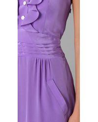 Sunner | Purple Florent Maxi Dress | Lyst