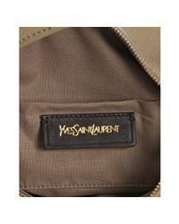 Saint Laurent | Natural Beige Pebbled Leather Multy Hobo Shoulder Bag | Lyst