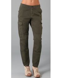 Rag & Bone | Green Combat Pants | Lyst