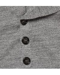 Alexander McQueen | Gray Asymetric Wool Cardigan for Men | Lyst