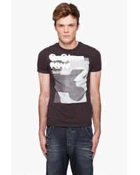 G-Star RAW - Brown Band R T-shirt for Men - Lyst