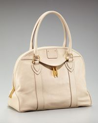 Marc Jacobs | Natural Abbey Bowler Satchel | Lyst