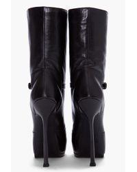 Saint Laurent | Black Tribtoo Boots | Lyst