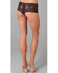 Calvin Klein | Black Seductive Comfort Lace Hipster | Lyst