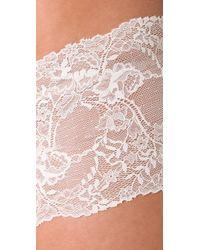 Calvin Klein - White Seductive Comfort Lace Hipster - Lyst
