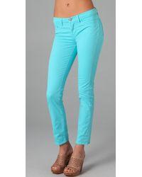 J Brand | Blue 11 Ankle Skinny Jeans | Lyst