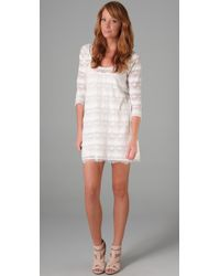 Joie | White Lace Brea Dress | Lyst